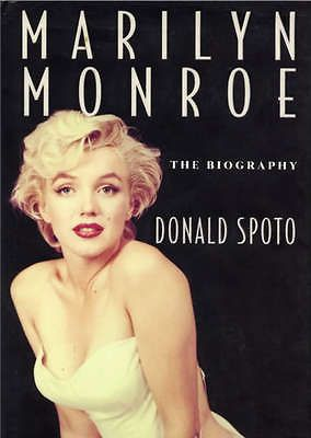 MARILYN MONROE The Biography by Donald Spoto 1993 1st