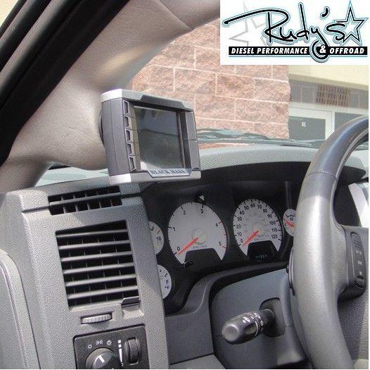 Pillar Mount Black MAXX MINI MAXX 03 09 Dodge Ram Cummins Diesel