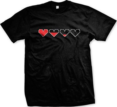 Video Game Heart Life Icon Happy Valentines Day Love Nerd TV Show Mens