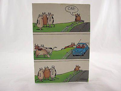 The far side greeting card gary larson blank 7 seven inches tall m4hsunfo