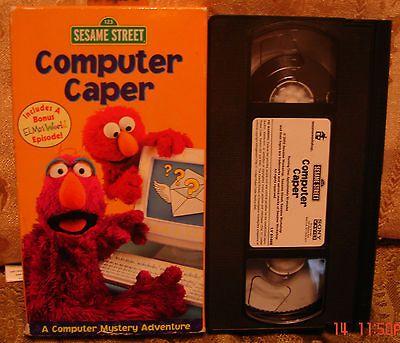 Sesame Street  Quiet Time VHS  eBay