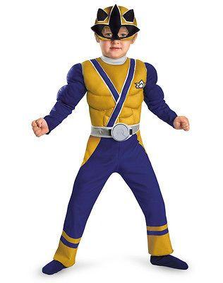 POWER RANGERS SAMURAI GOLD RANGER Child Toddler Halloween Costume