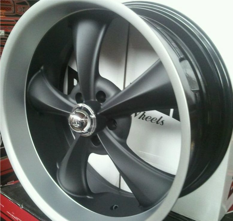 5x4 75 Caprice Belair Firebird Skylark Matte Black Wheels Rims