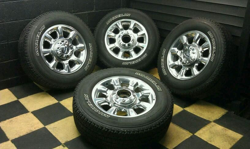 FORD F250SD F350SD F250 F350 20 2011 12 FACTORY WHEELS RIMS TIRES 3844