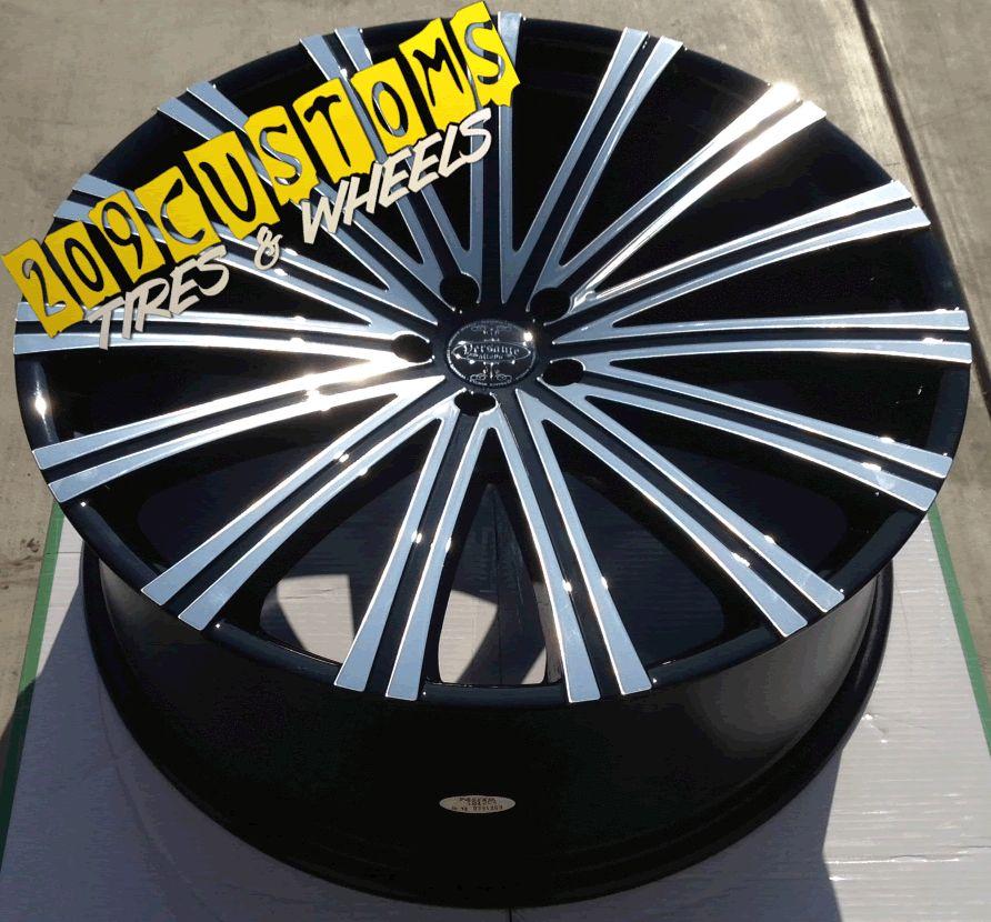 Wheels Rims Tires Versante 230 6x139 7 Chevy Silverado 2000 2012