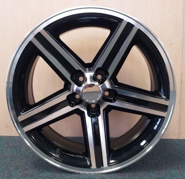 22 Black IROC Wheels Tires 5x127 GMC Chevy Truck Impala Caprice