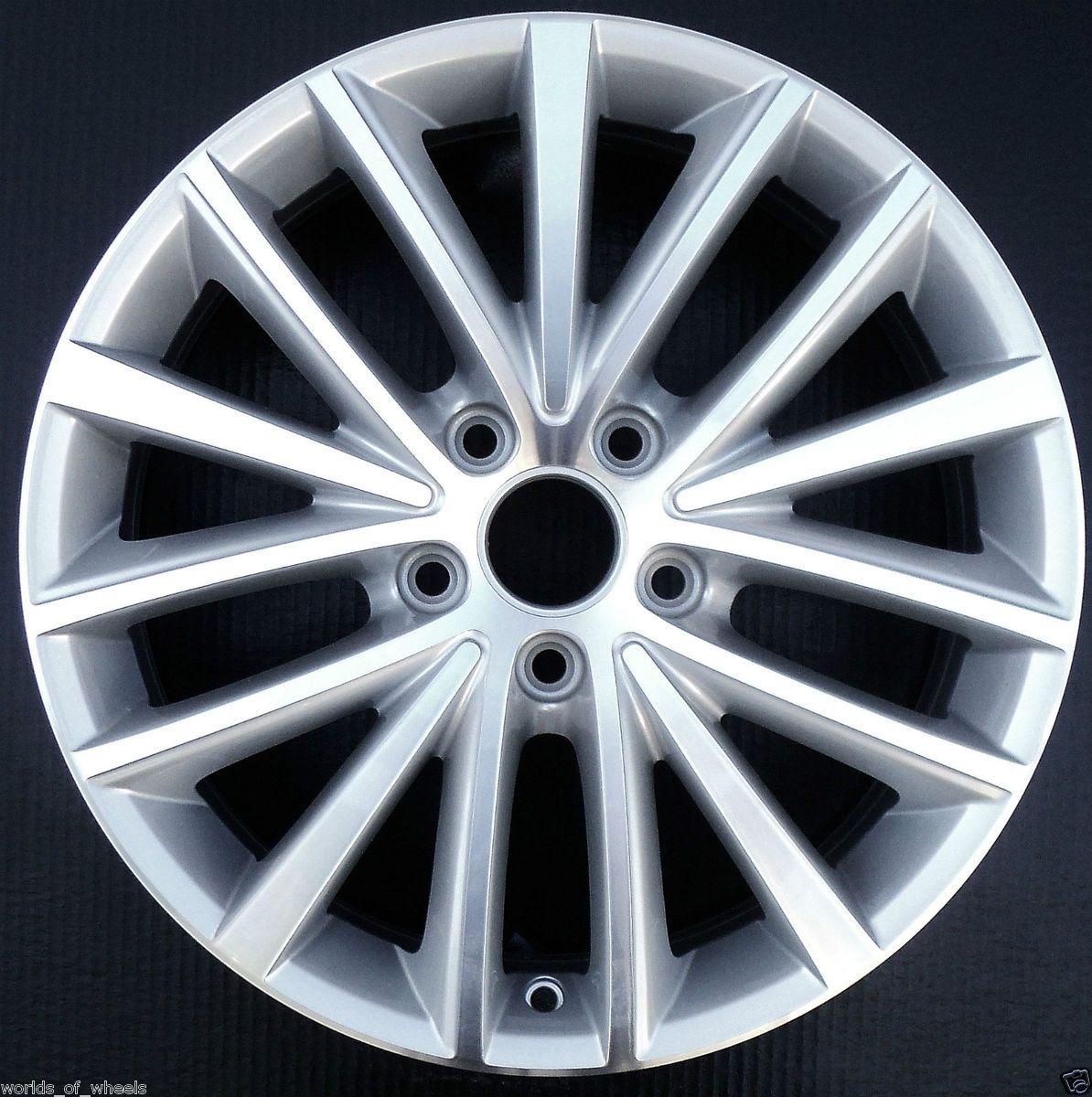 11 12 Volkswagen VW Jetta 17 15 Spoke Machined Factory OEM Wheel Rim H