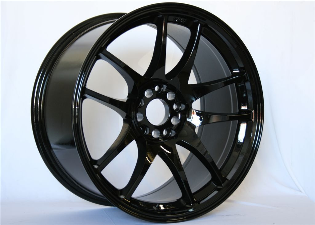 17 Rota Torque Black Rims Wheels 17x8 48 5x114 3 MAZDASPEED3 SPEED6