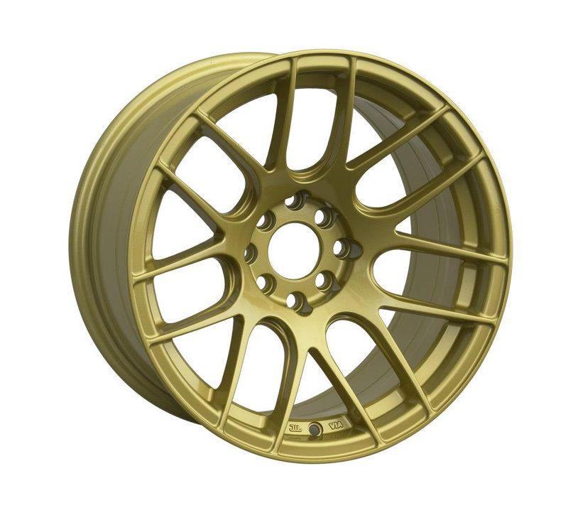 16 XXR 530 GOLD RIMS WHEELS 16x8.25 +0 4x100 MAZDA MIATA SCION XB BMW