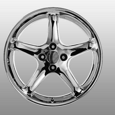 Ford Mustang Cobra R Factory OE Replica Wheels Rims 4x4 25 17x9