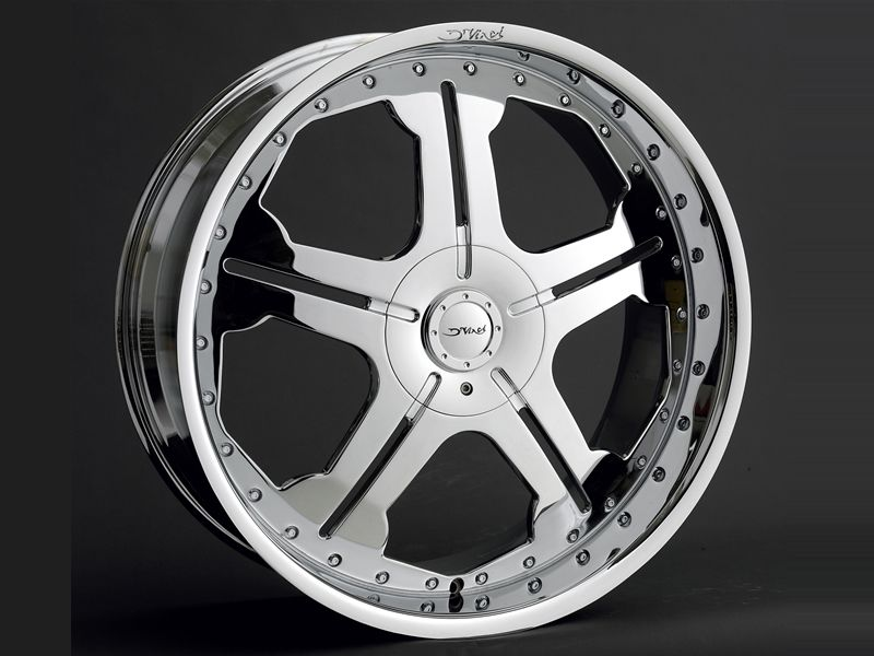 22 inch DV50 Wheels rims Tires fit chevy Ford 6 lug Truck or SUV Best