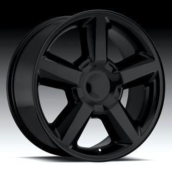 GMC TRUCK SUV SIERRA DENALI SILVERADO TAHOE BLACK LTZ WHEELS NEW 31MM