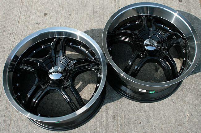 RVM 930 19 Black Rims Wheels BMW E38 E65 7 Series