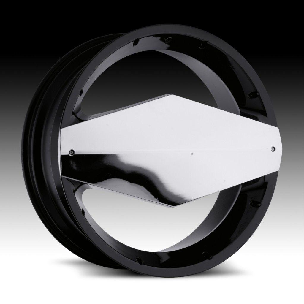 24 inch Vision Morgana Black Wheels Rim 6x135 30 Ford F150 Expedition