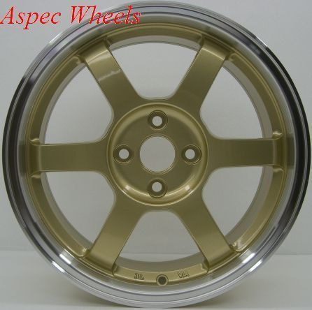 Rota Grid 16x7 4x100 ET40 67 1 Royal Gold Rims Wheels