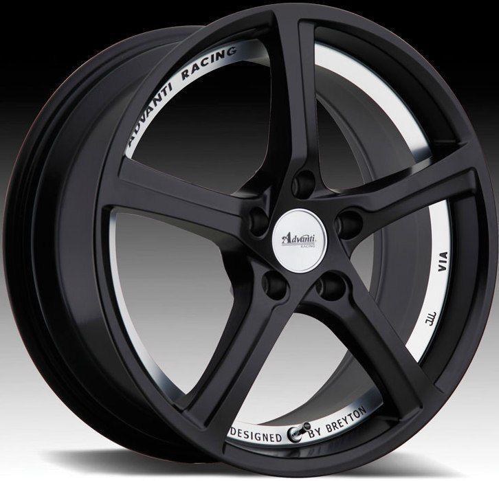 Racing 15th Anniversary 5x112 ET50 Matte Black Rims Wheels