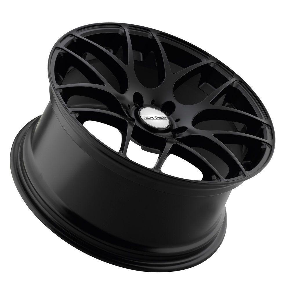 18 Avant Garde M310 Matte Black Wheels Rims Fit Volkswagen CC EOS