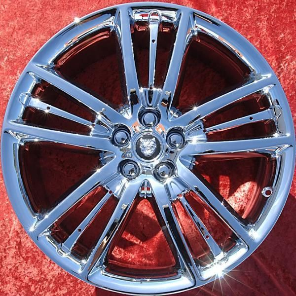 of 4 New 20 Jaguar XF XK Chrome Factory OEM Wheels Rims EXCHANGE 59840