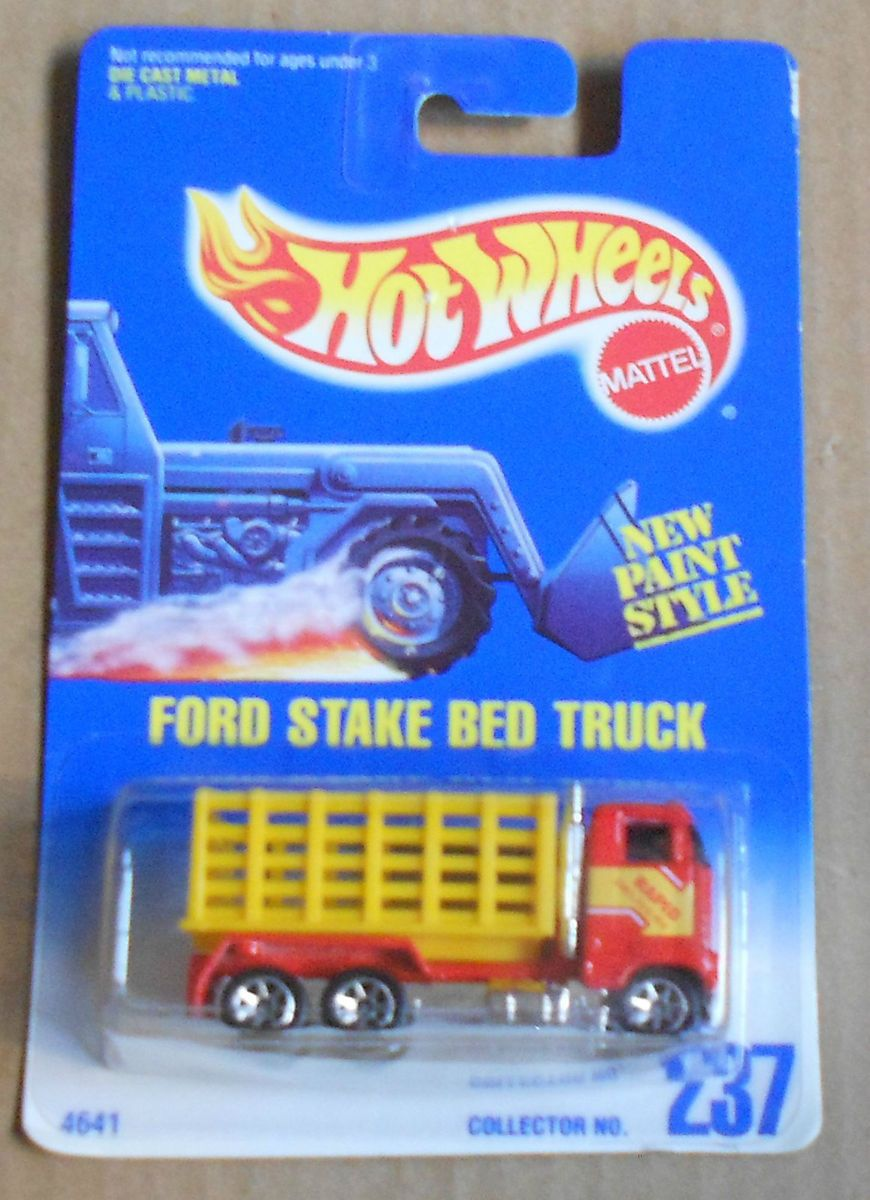 Hot Wheels Ford Stake Bed Truck 237
