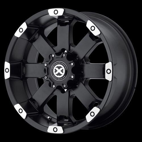 18 Inch Black Wheels Rims Ford F150 Truck Expedition 6 lug 6x135 ATX