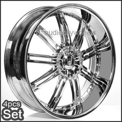 Rims Wheels Chevy Ford RAM Tahoe Escalade Yukon QX56 Silverado Rim