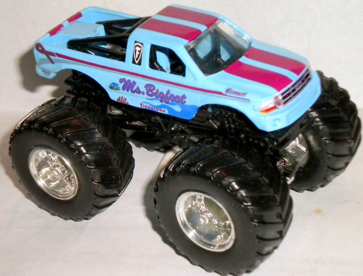 Bigfoot Custom Made Monster Jam Truck 1 64 Hot Wheels Ford F150