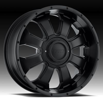 AMERICAN EAGLE 069 DODGE CHEVY FORD TRUCK HUMMER H2 BLACK WHEELS RIMS