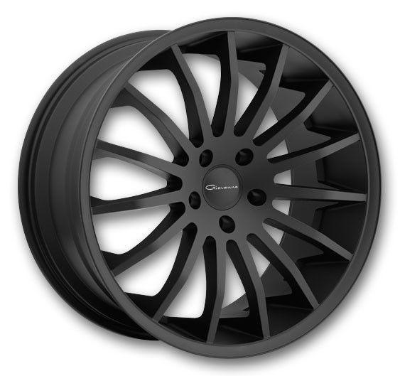 20 GIOVANNA MARTUNI BLACK RIMS WHEELS TIRES BMW E90 330I 328I 335CI