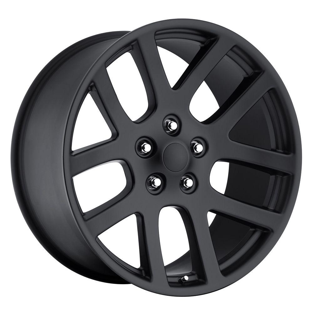 20 SRT10 Dodge RAM Dakota Durango Wheels Rims Set Satin Black