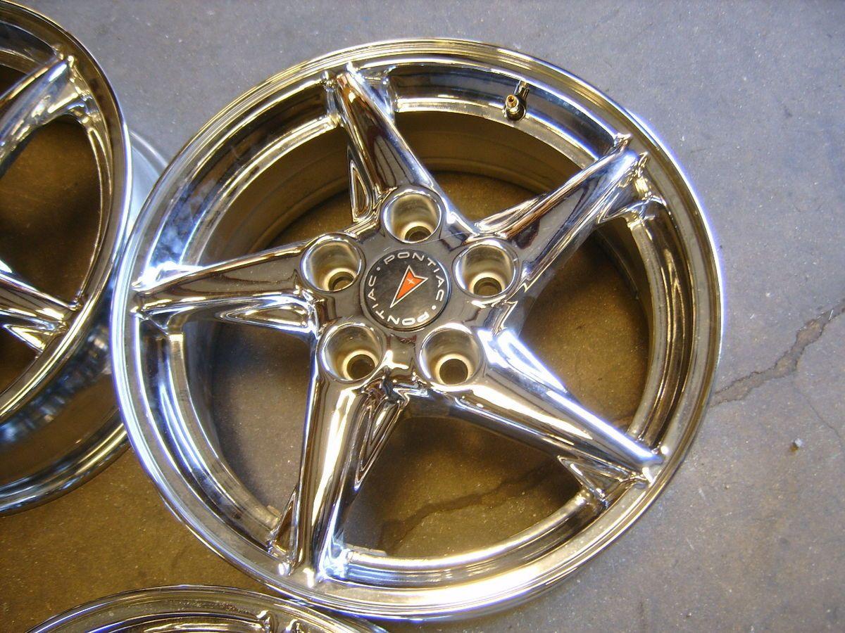 99 00 01 02 03 04 Pontiac Grand Am Prix 16 Chrome Alloy Wheels Rims