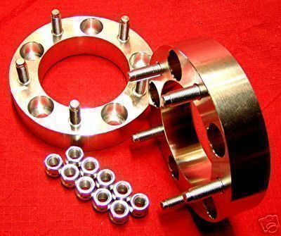 Samurai Sidekick Billet Wheels Spacers 12mm Studs Machined