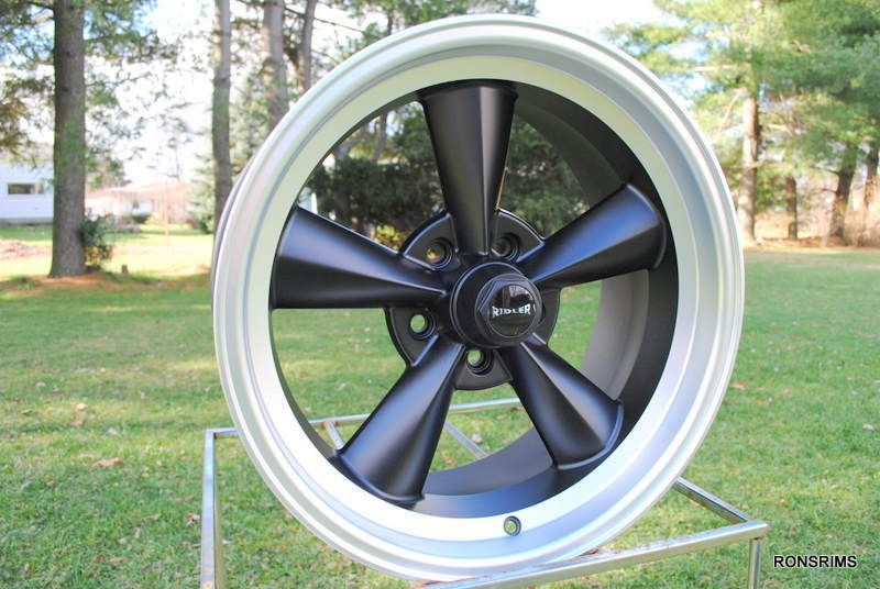 17x7 Flatblack Spoke Chevy GM Wheels Ford Mopar ClassicS