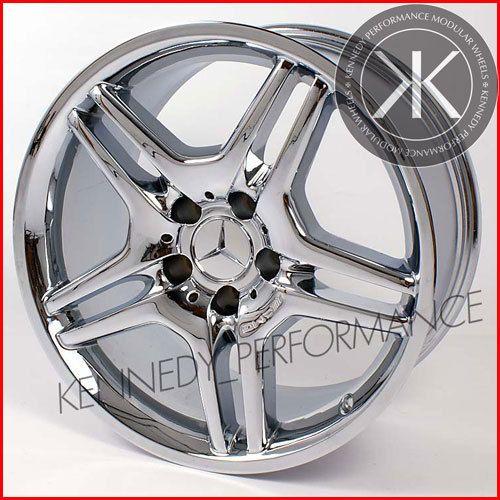 Single 18 inch Mercedes AMG Chrome Front Wheel Rim Mercedes SL R230