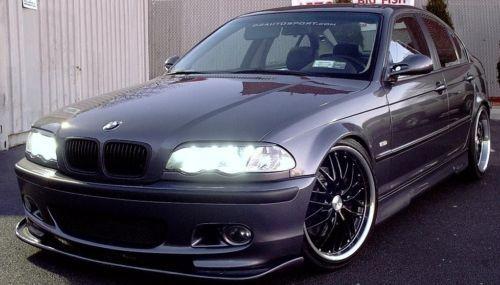 18 MRR Black GT1 Rims Wheels BMW M3 E36 Staggered