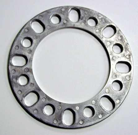 Wheel Spacers 8 Lug 1 4 inch for 2012 Chevy Chevrolet GMC Truck Alum