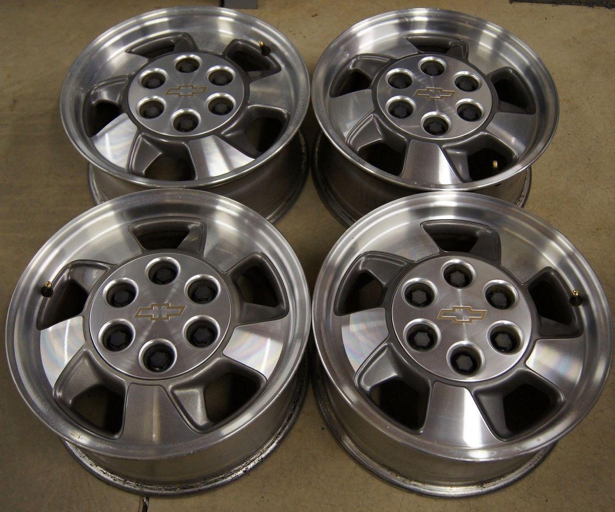 Tahoe Silverado Avalanche Astro 16 Factory Wheels Rims 5096A 8