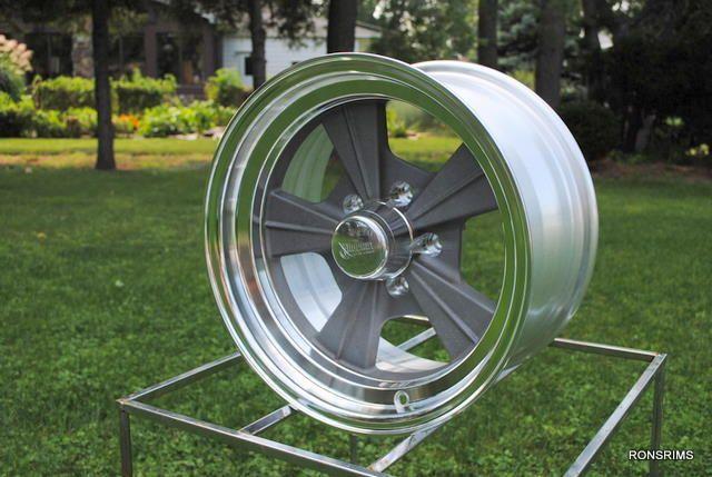 Rocket Strike Hot Rod Mag Chevy Ford Wheels as Cast Gasser