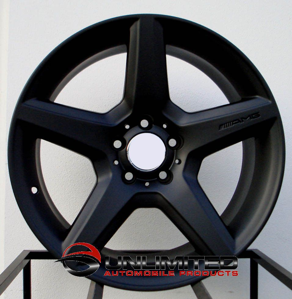 AMG Style Staggered Wheels Rims Fit Mercedes C230 C240 C280