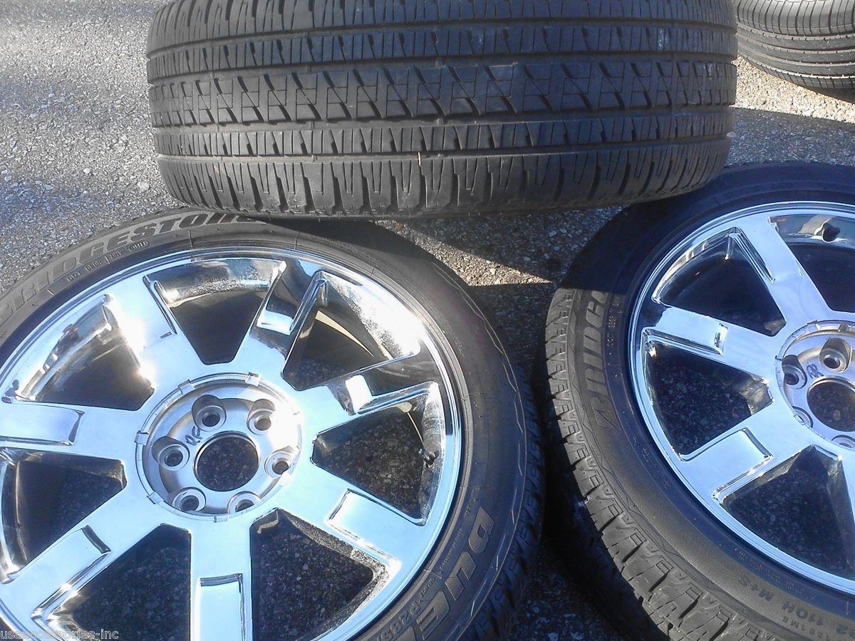 22 Cadillac Escalade Chrome Wheel Rim Tire