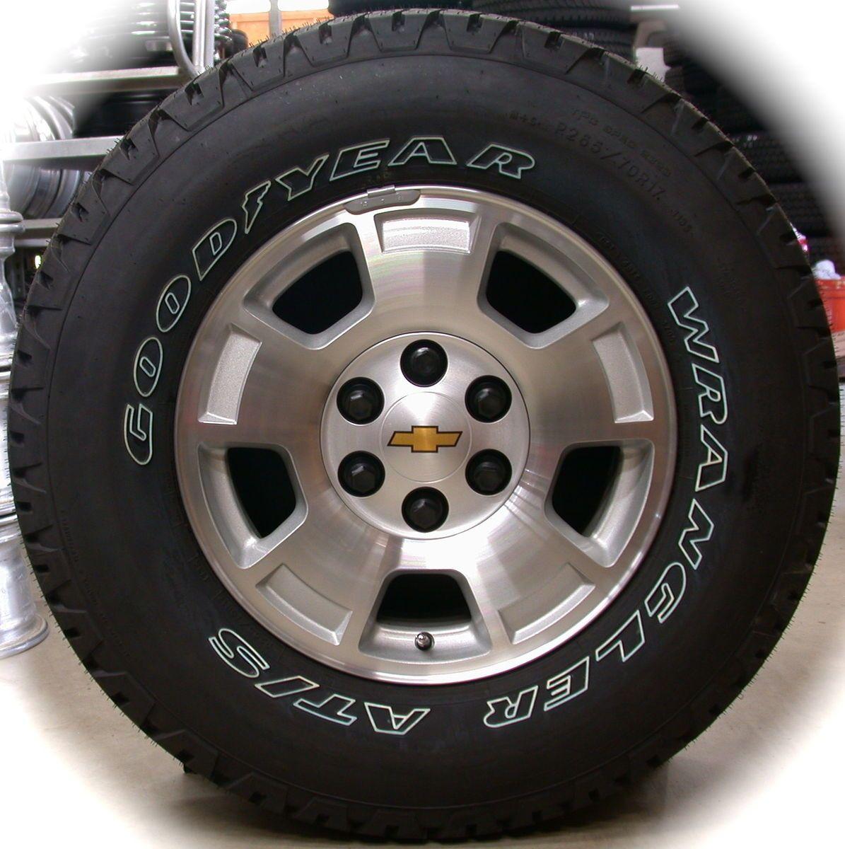 Silverado Tahoe Suburban Avalanche 17 Wheels Rims Tires Sierra
