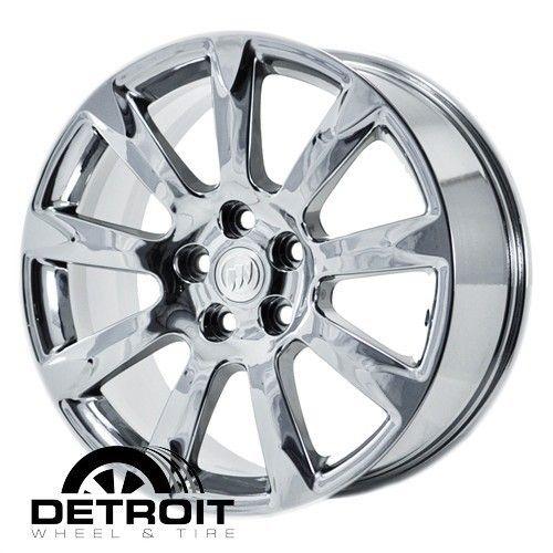 Lacrosse PVD Bright Chrome Wheels Factory Rim 4097 Exchange