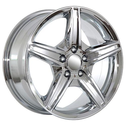 C350 C500 2012 ML350 ML500 2012 S430 S500 S550 chrome amg wheels rims